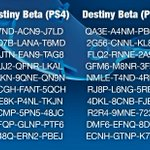 RT @PlayStation: Weve had fun sharing Destiny Beta codes with you, but all things must end. Heres one final set — see you starside. http://t.co/Fl4umPB5cG