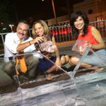 RT @ShanellNumber5: The last show with the @12News ice desk. So we went out in style...broke this baby down live with a chainsaw. http://t.co/BqlhJh7xkN