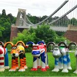Pls RT If #Gloucester had #SculptureTrail like #Bristol what animal would you like? & Countywide or City? http://t.co/oWUYXLdN7A