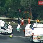 A female Korean tourist dead after mini bus plunged into a ravine off the Great Ocean Rd this afternoon.@9NewsMelb http://t.co/xDGXHZR1lB