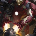 RT @MarvelUK: Its #IronMan vs #Ultron in this #Avengers #AgeOfUltron concept artwork unveiled at #SDCC2014 http://t.co/QkaBw0M9JP