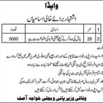 RT @omar_quraishi: Hahahah -- WAPDA advert for 5,000 men who can pray for rain via @khawajaNNInews http://t.co/9JxAhuxohd