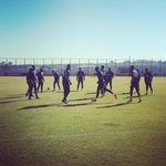 RT @OfficialPSL: Kaizer Chiefs players going through their paces ahead of the #CBLC2014 >>> http://t.co/mQS5Uelz5Z