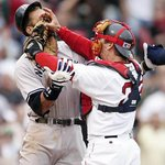 RT @si_vault: Varitek vs. A-Rod. Ten years ago today. http://t.co/UvpoReNv3N
