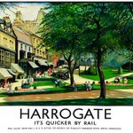 Our #TBThursday is the rather swanky LNER Railway poster of #Harrogate #vintage http://t.co/VuipkwZ4df