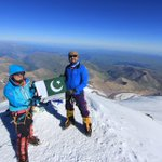 RT @Mirza_climb: Last of the 7Summits,#saminabaig 1st pakistani & first muslim woman to complete the 7highest Mtains in 7Continents http://t.co/yRCphQZmNJ