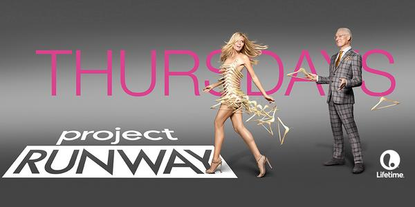 #ProjectRunway returns TONIGHT at 9/8c! RT if you'll be watching. http://t.co/dvSLvNnpsC
