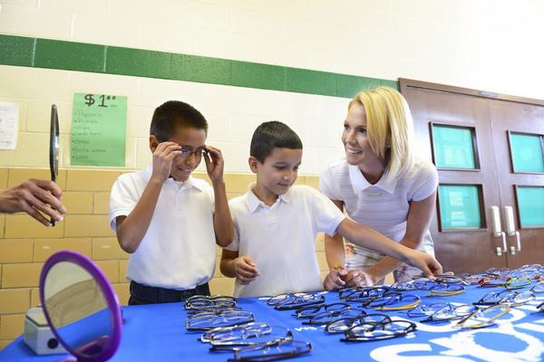 HELP kids Get an A+ in Eye Care. Visit http://t.co/Txm8Tgkzg5 1 Facebook like=$1 to Kids Vision for Life! #KidsVision http://t.co/tlQ55ikS24