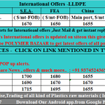24/7 #Polymers Latest #International Offers of #LLDPE. Just mail at globaloffers@polymersbazaar.com + 91 93745 24365 http://t.co/b2mhcF1tTF