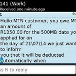 "TF?!!! RT @TidoMore: See what I was talkin abt""@IAmFoxen: LMAO eh ""@Nomie_hlophe: Lmao! But I knew MTN had an agenda http://t.co/33D5dVrVk1"""