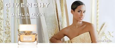 #TT Gold meets Fragrance when @AliciaKeys meets Givenchy. Tweet us with #dahliadivin to WIN 1 of 10 Dahlia Divin! http://t.co/HXI4NKBuD8