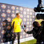 Carling Black Label Cup Media Day at the Kaizer Chiefs Village in Naturena #Amakhosi4Life http://t.co/qMd7rS9oov