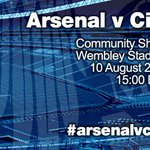 RT @MCFC: ARSENAL V CITY: RSVP to the Community Shield on Aug 10 on Facebook: http://t.co/InfZUezxig #arsenalvcity #mcfc http://t.co/pxnnNttVnX