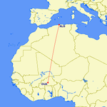 RT @airlivenet: BREAKING #AH5017 was Air Algerie's only flight from Ouagadougou (OUA) to Algiers (ALG) today. 1700 mi / 2763 km. http://t.co/OhLZbolTKm