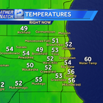 Eeeh. Upper 40s this morning away from Lake Michigan. #refreshing or #chilly? @wisn12news http://t.co/GyxF71SW06