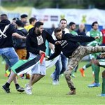 RT @Telegraph: Football friendly called off after pro-Palestinian supporters attack Israeli team http://t.co/anvMvegGsJ http://t.co/xKAj3nnMLP