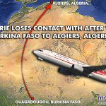 RT @malaysiakini: Air Algerie loses contact with plane. More to follow: http://t.co/mz1hmPwQQg http://t.co/jQ7PnHqDBA