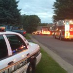 Better lit photo from fire scene on Dawn Circle in Webster. #13WHAM http://t.co/l5v7Lz3IHV