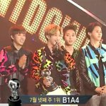 RT @kor_celebrities: 今週の「Mカウントダウン」1位は、B1A4 - Solo Day (7/24) http://t.co/AH8LCb01SG