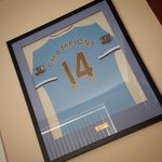 Looks even better on the wall! ????⚽???? #mcfc @MCFC http://t.co/WJLx7AjIZi