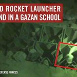 RT @IDFSpokesperson: This is a loaded Grad rocket launcher we found in an agricultural school in Gaza. http://t.co/1T3T3rgCdF