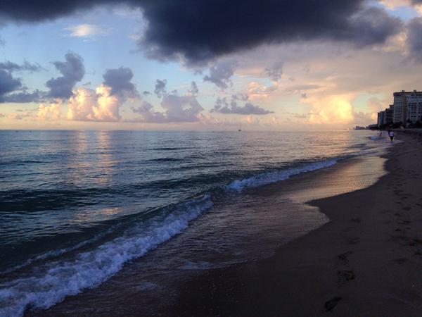 I can see my future. It is rain. #beach #mybeach #sunrise #storm #clouds #ocean http://t.co/ijZxPfzhPV