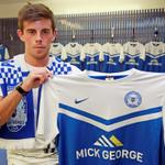 Welcome to Posh @kennethMcevoy #pufc http://t.co/BWhEHvWOxh