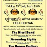 RT @JanBrumby: Hulls fantastic new venue for arts and culture! Tomorrow night , 25/7 excellent local bands @kardomah94 @2017Hull http://t.co/LTjRVm3sSj