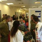 RT @IsraelMFA: Field hospital for wounded Palestinians from #Gaza, maintained by IDF &  Red Crescent, continues to receive patients. http://t.co/vJExjR0Orq