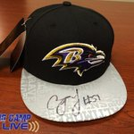 RT @Ravens: Well give away this hat signed by C.J. Mosley during #Ravens Training Camp Live! Watch at 8:30am in the app/online. http://t.co/ivNj4SCLrD