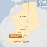 Flight path of missing Air Algerie Flight #AH5017 http://t.co/aoidH0iqj3 http://t.co/1BZrkU96it