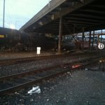 BREAKING: @JonRepp sent us this photo from a train derailment under the Magnolia Bridge. The latest #liveonkomo http://t.co/JYt2EX5bQR