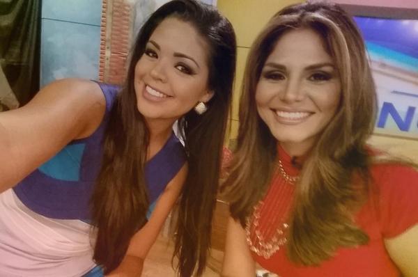 Carla Aranguren (@carladeportes): Buenos días por la mañana de parte de las noticias y los deportes @NataliaCruzNews @DespiertaAmeric @Univision http://t.co/i9fC5HLEBD