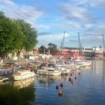 RT @BristolHarbFest: What a gorgeous day in #Bristol. #blueskies #scorcher http://t.co/prpSm53IyD