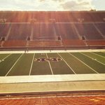 Notre Dames field turf has been laid down. Check out the Irishs new look. (via @NDFootball) http://t.co/S6sRh9QSdC