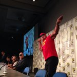 The Immortal @HulkHogan, @WWEDanielBryan & @HeymanHustle run WILD on #SDCC! #WWE @Mattel http://t.co/ShbqwwWyNc
