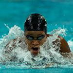 RT @JamaicaOlympics: Jamaican swimmer Alia Atkinson sets new #CommonwealthGames record (30.49 sec) 50M breaststroke #Glasgow2014 @AliAtki http://t.co/surqpnDuQt