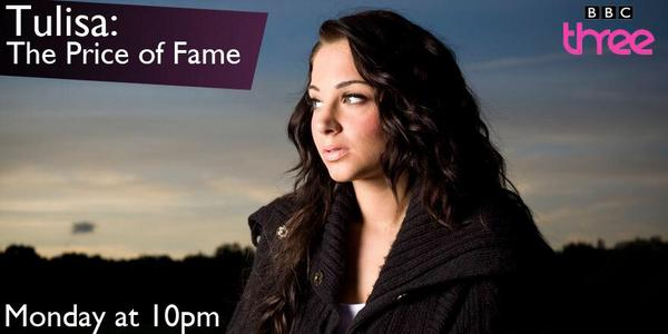 Tulisa : The Price of Fame Monday 28th July (10PM) - @bbcthree  http://t.co/dWd8uRM4sp http://t.co/MGjuIw5hHA