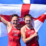 RT @BBCSport: England's Jodie Stimpson won the first gold medal of #Glasgow2014 in the triathlon. Watch at http://t.co/Z55MfhkRZu http://t.co/FlPL8cma2R