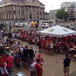 RT @TheAwayEnd: Aberdeen supporters currently turning the centre of Groningen red. Via @BigUrcy http://t.co/J1NGrxu7pP