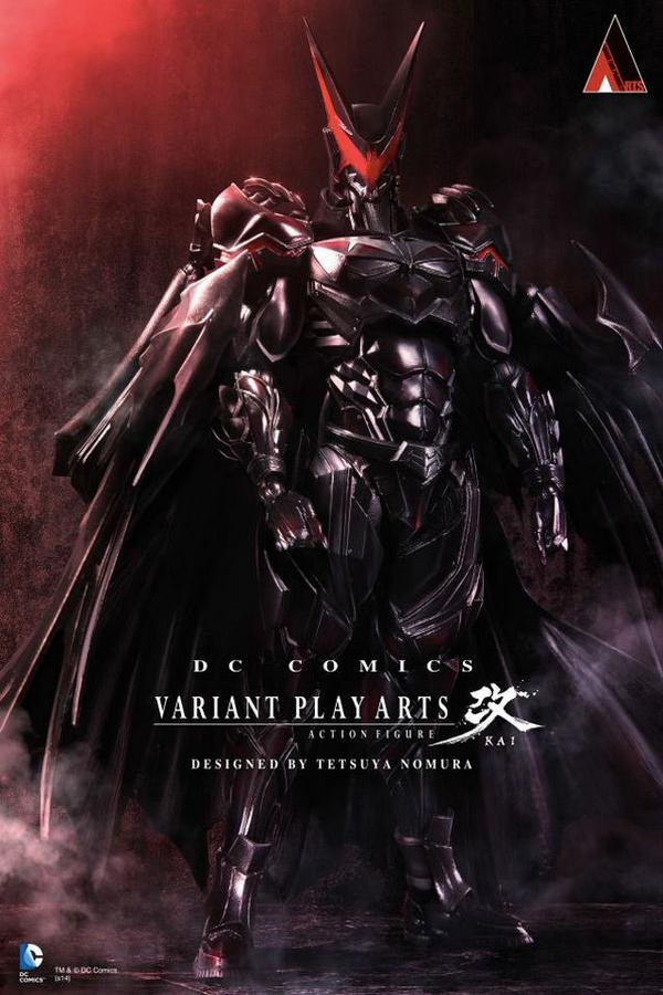 RT @tgnTV: Ever wondered what #Batman would look like in a #FinalFantasy universe? Designer Tetsuya Nomura shows us! http://t.co/eojEXUa3co