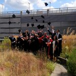 The @ShefMSE graduates enjoying their celebration event @sheffielduni congratulations #tuosgraduation http://t.co/9JFLPgmBZc