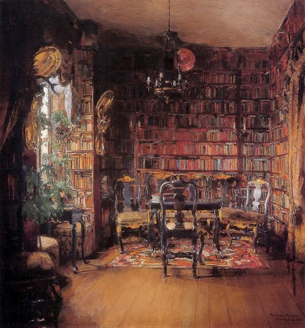 RT @GreteSofie70: @Tate  The library by the norwegian painter Harriet Backer feels like home to me. http://t.co/JmFtfKXAWu