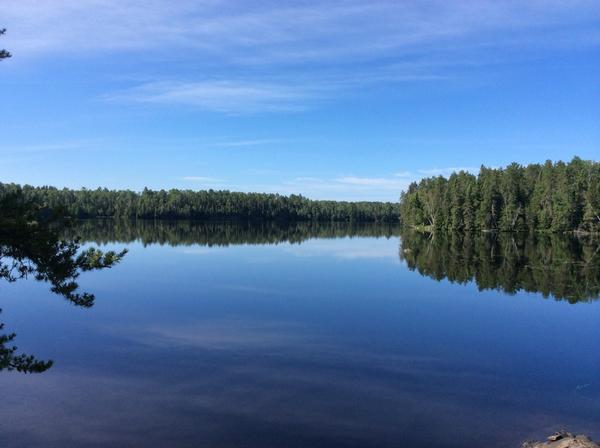 It's a beautiful morning in the Boundary Waters! http://t.co/1Hrn4MeO2J