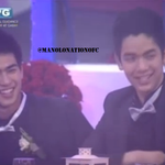 Joshua and Manolos reaction when they see Cheridels video. #PBBGoinDalaga http://t.co/i5agJ3DiaS