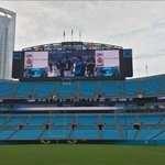 Getting ready for #Panthers Fan Fest. http://t.co/DxIMO6oXFv