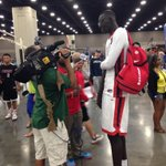 RT @SteveJones_CJ: 7-5 Tacko Fall is making @KendrickHaskins work to get that up-close shot http://t.co/F3ulxtQ5tl