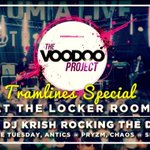 RT @VOODOOsheffield: Voodoo Project / Tramlines special / Locker Room / Sat 26th Jul / £1 drinks before midnight / £1.80 dbl vodka mixer http://t.co/KNUs1F8bFL