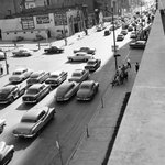 Rush hour on Dodge, circa June 1955 — http://t.co/aXewHl1Y9u