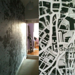 RT @adam_park: @OrdnanceSurvey a made this big map of #sheffield to cover a long corridor in our house using @openstreetmap data http://t.co/9Vtyh4JUHv